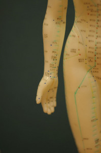 Acupuncture points for PMS
